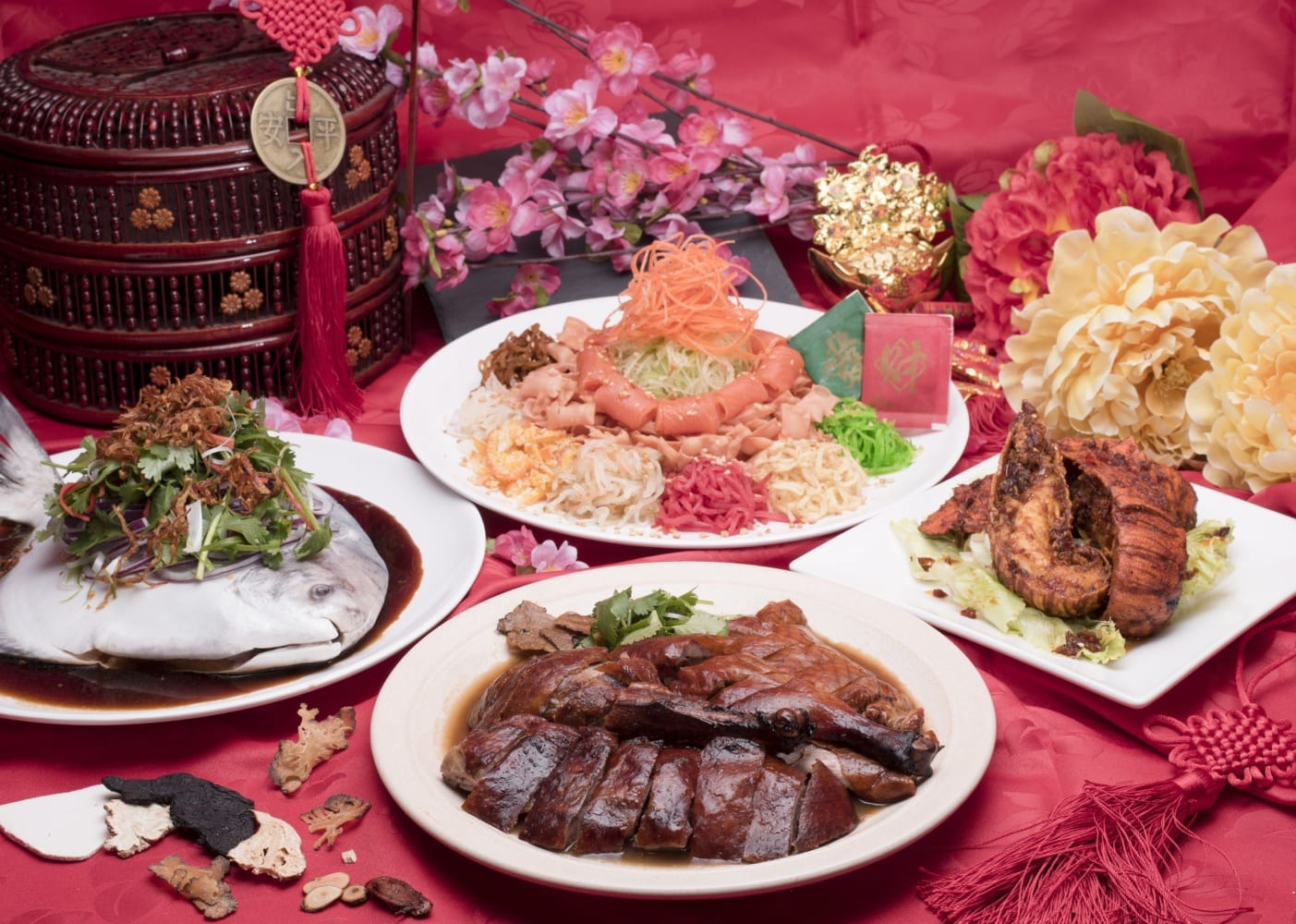chinese new year in singapore: best restaurants for reunion