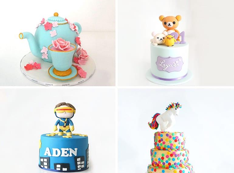Susucre Best cake art Honeykids Asia Singapore
