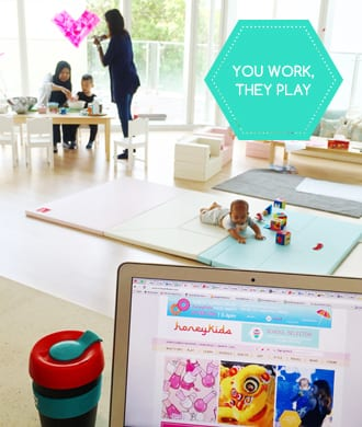 Trehaus: a cool family-friendly co-working space!