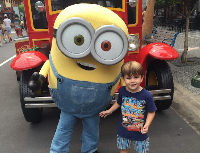 Universal Studios: where your little Minions can meet the real Minions!
