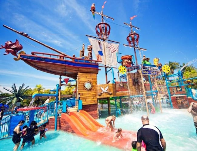 Walk the plank over to Port of Lost Wonder for some wet 'n' wild pirate fun.