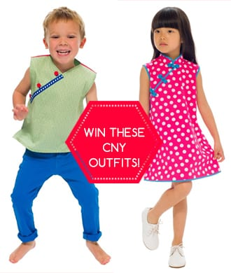 FLASH GIVEAWAY! Win the perfect CNY outfit from Pedder on Scotts!