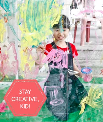 Six ways to nurture your kid's creativity