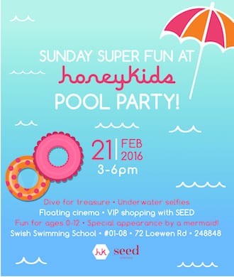 Hit the pool with us for a huge afternoon of fun!