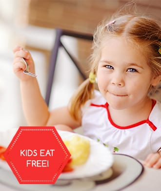 Kid-friendly restaurants where children eat for free!