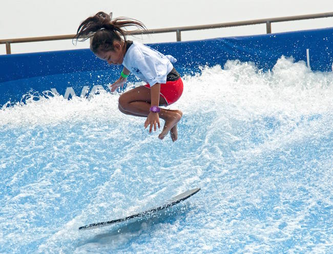 Ride the waves and catch the surf over at Wave House where the whole family will be wiped out from the fun. Photo credit: Wave House Sentosa