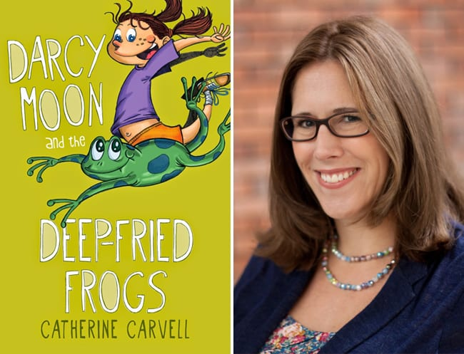 Catherine Carvell, author of Darcy Moon and the Deep-fried Frogs