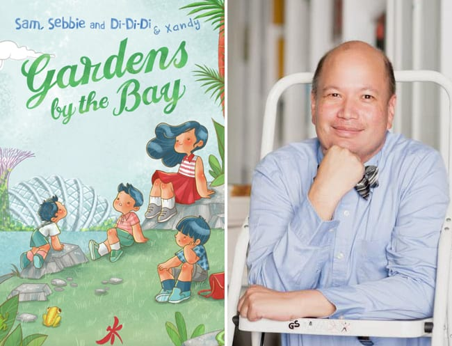 Children's book author David Seow
