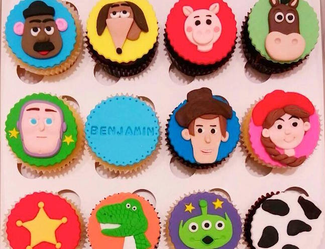 Toy Story cupcakes by Little House of Dreams