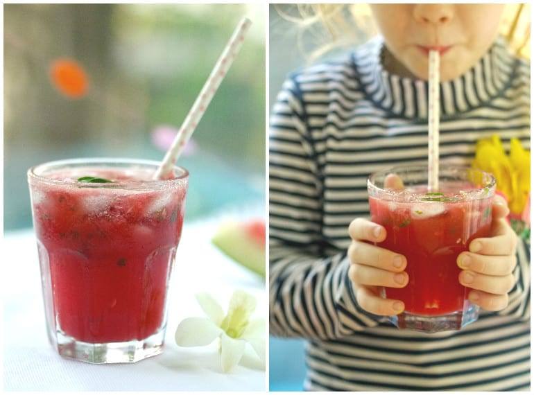 Summer drinks: watermelon cooler