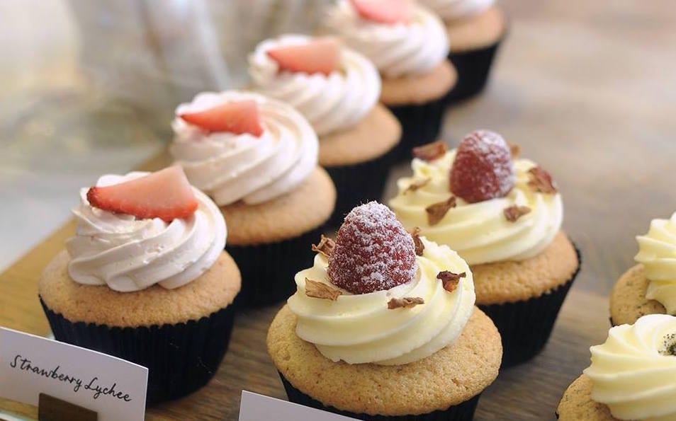 Plain Vanilla Best cupcakes in Singapore