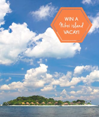 Win a private island stay on Nikoi Island!