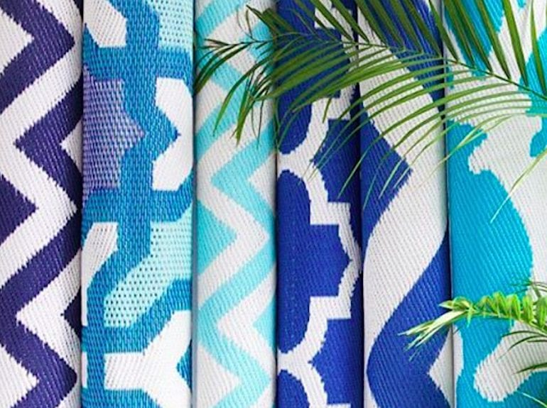 indoor/outdoor rugs from Affordable Style Files: