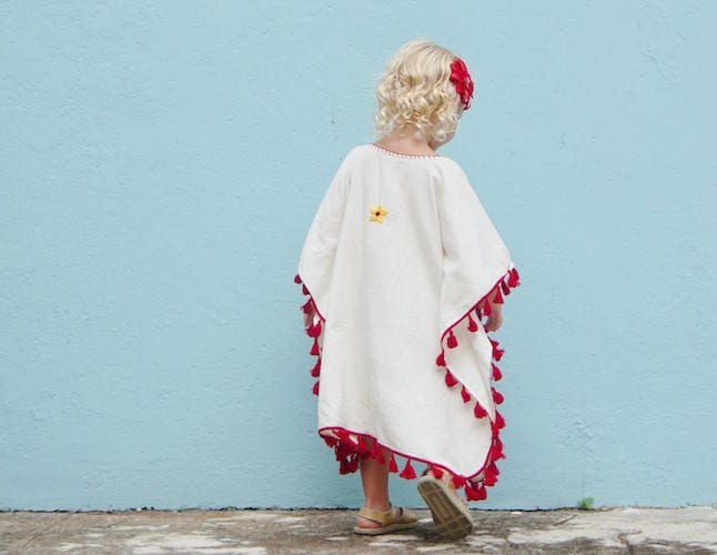 Boho for kids: Bae Bee Boo's latest 'Marisol' kaftan sold out in a flash, but more is on its way!