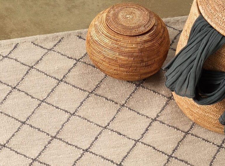 Luxury rugs at Bungalow 55 Singapore.
