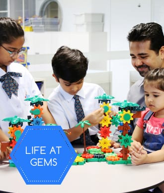 Our school community: GEMS World Academy