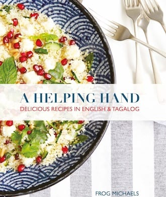 Modern family recipes and Singaporean favourites translated for Filipino helpers