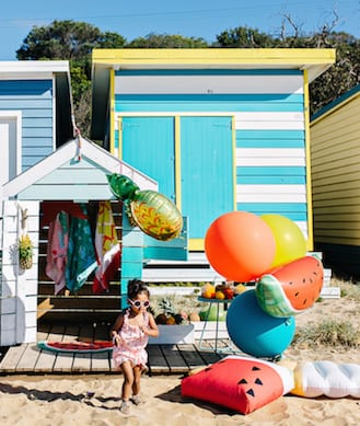 Party style inspiration: tropical beach party!