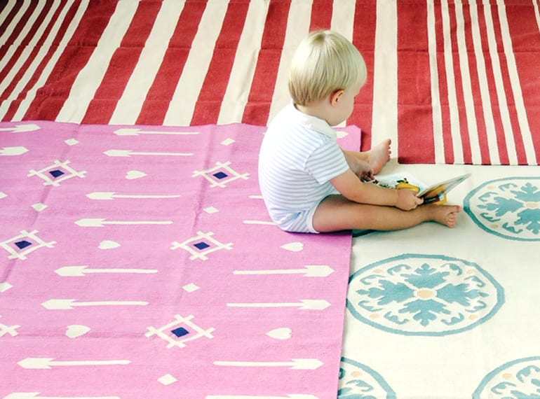 Customise your rug at Ruby Slipper.