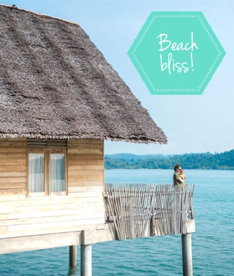 Travelling with a baby? Try a private island retreat at Telunas