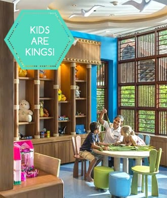 Stylish family rooms & kids' club for a Thailand holiday