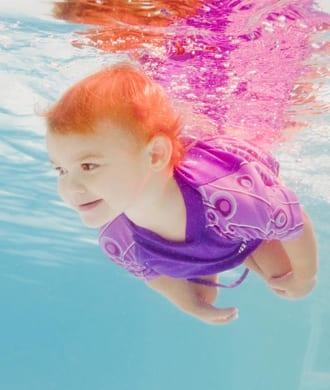 Swimming classes for babies and kids