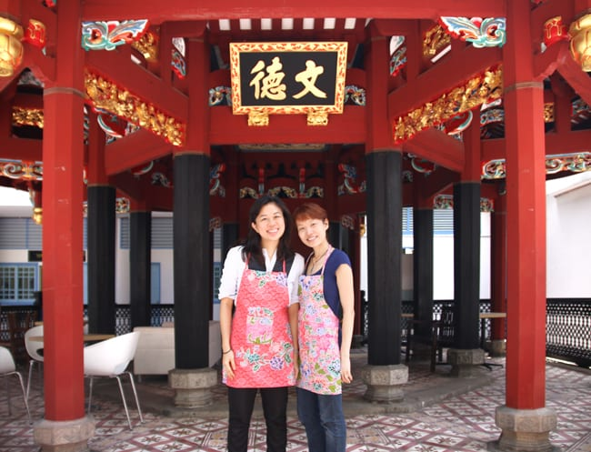 Grace Soh and chef Sherlene Teh bring fantastic heritage food and genuine good service to Chong Wen Ge Cafe.
