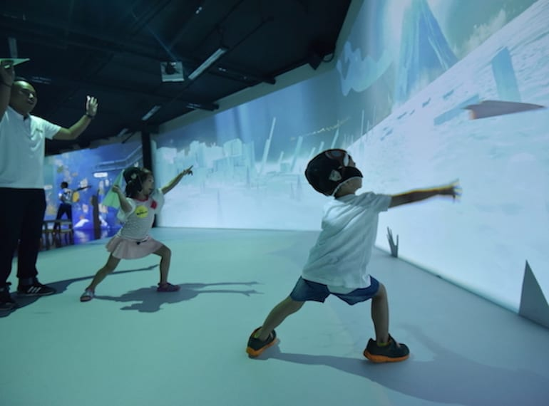 indoor play centres for kids in Singapore
