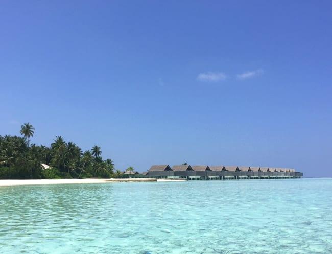 Maldives Per Aquum overwater bungalows