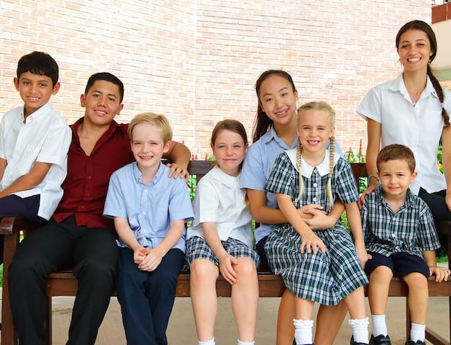 Tanglin Trust follows the UK Government's Early Years Foundation Stage.