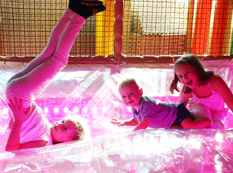 Indoor play centres in Singapore for kids Waka Waka