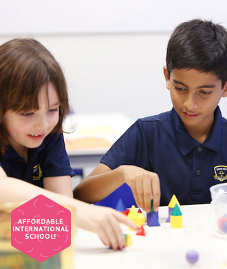 A new international school with affordable school fees!