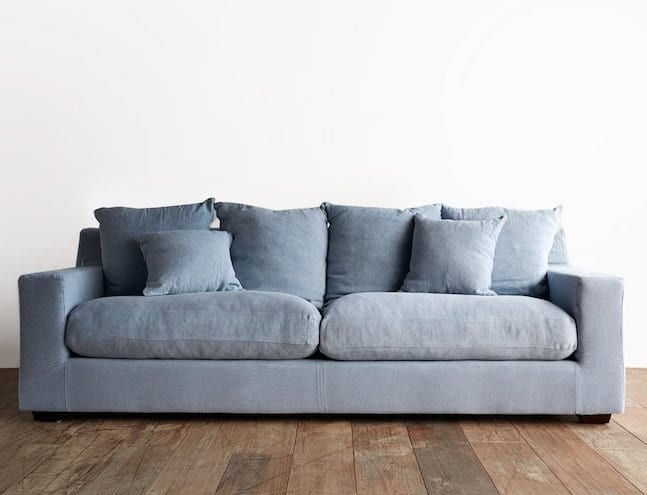 Cornwall sofa with removable washable covers from Originals