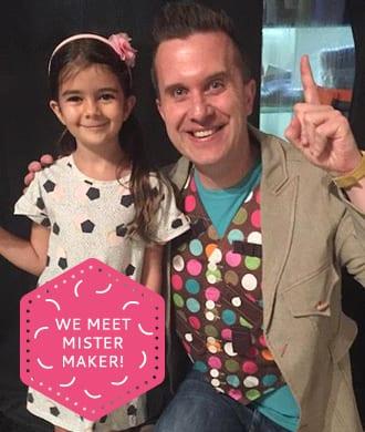 HoneyKids interviews Mister Maker!