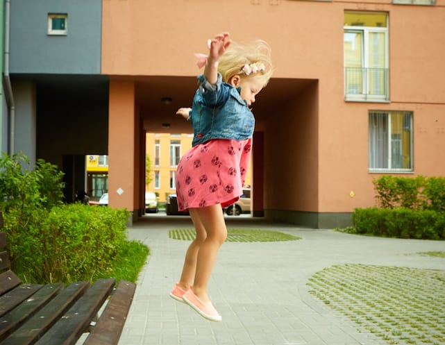 Learning to jump: improve your child's motor skills