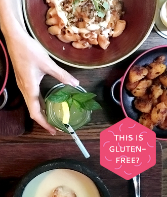 Go gluten and dairy free at Open Door Policy