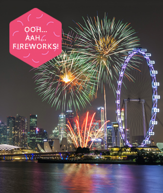 Catch the fireworks on National Day!