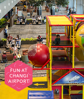 You won't believe what's at Changi Airport for families!