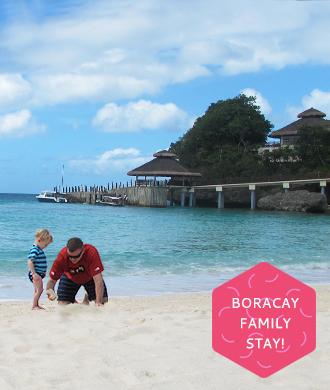 Family holiday in Boracay!
