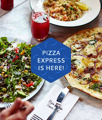 Pizza Express is here in Singapore!