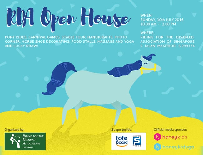 Come along for a fun family day at RDA Open House 2016!