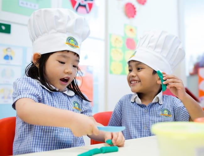Learning Vision preschool HoneyKids Asia