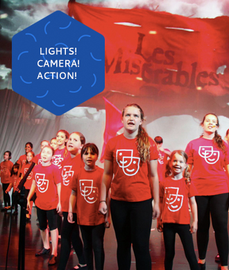 Lights! Camera! Action! Drama classes for kids
