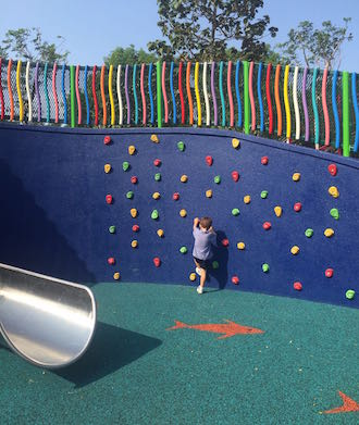 An amazing playground plus cafes for families! Marine Cove has re-opened!