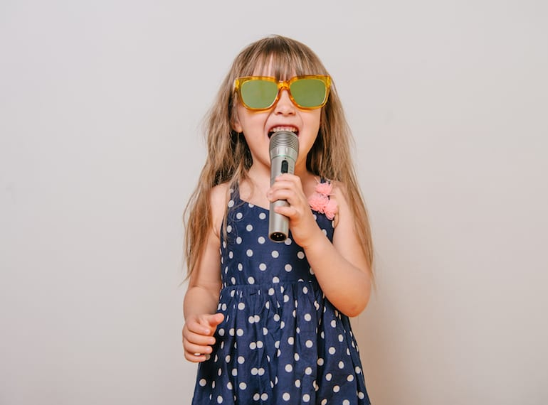 Singing lessons for kids in Singapore Honeykids Asia