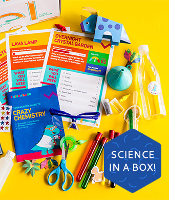 Fun science for kids now comes in the mail!