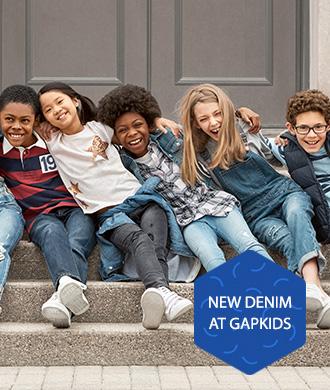 The great GapKids denim swap: get 20% off!