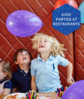 Restaurants and cafes for kids' parties!