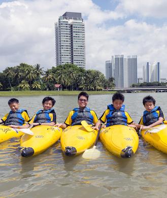 Fun water sports for kids