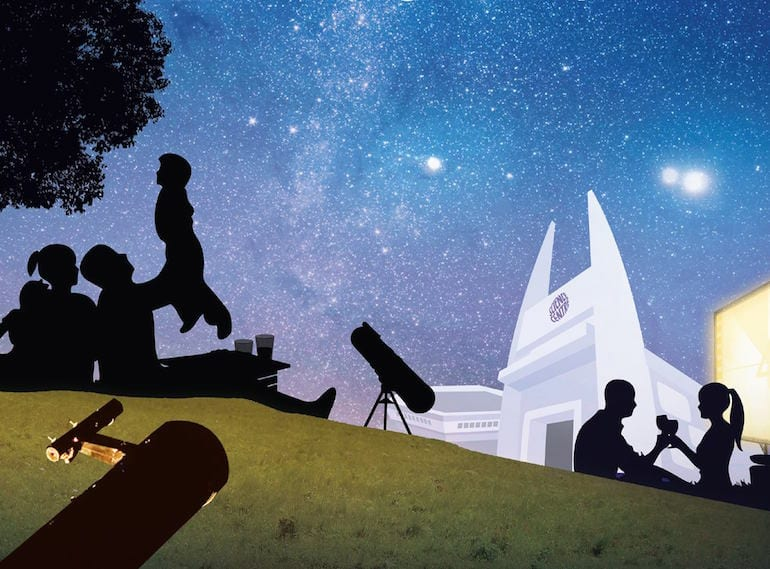 Picnic under the planets